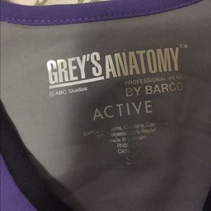 Grey's Anatomy Tops - Grey's Anatomy scrub top